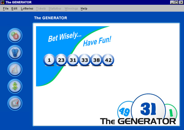 keno lucky numbers generator